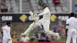 usman khawaja test match srilanka