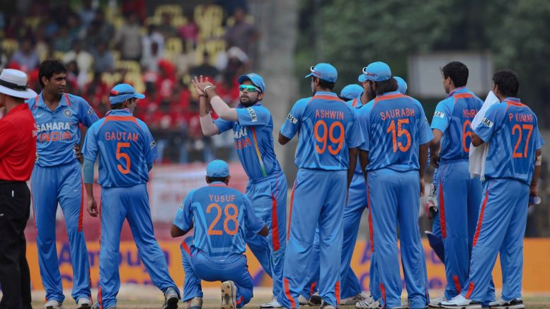 Indian Cricket team players