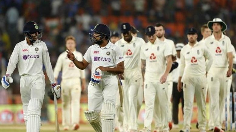India vs England, India 145 all out, lead England by 33