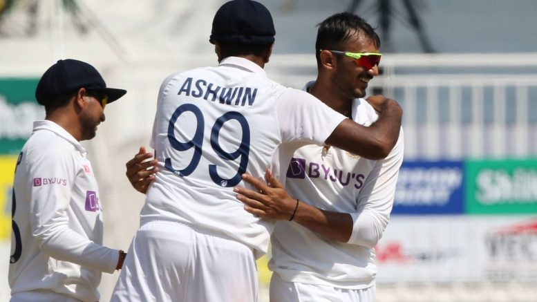 India wins by 317 runs; levels series 1-1