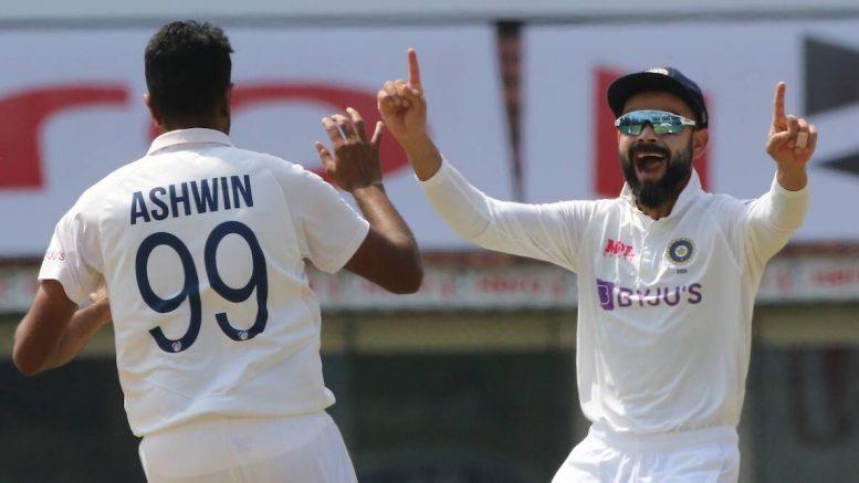Ashwin picks 350 international wickets at home