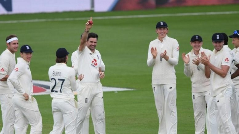 india lose in test aganist england