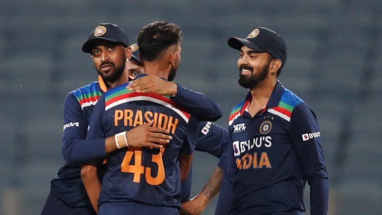India vs England 1st ODI India win by 66 runs