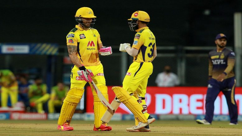 CSK VS KKR- clinch the thriller, win by 18 runs at Wankhede