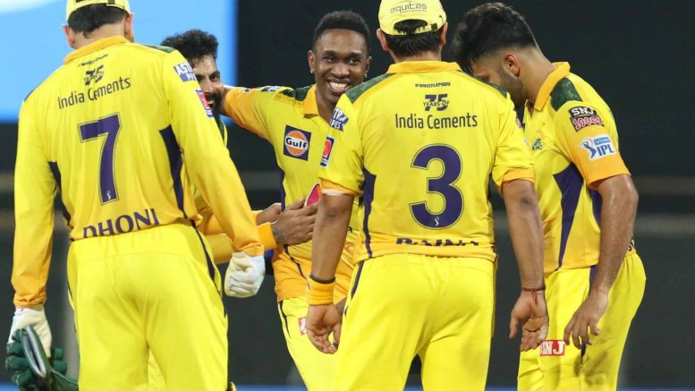 Chennai beat Rajasthan by 45-runs to move to second spot