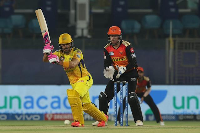 Chennai super kings-beat sunrises hyderabad by 7-wickets
