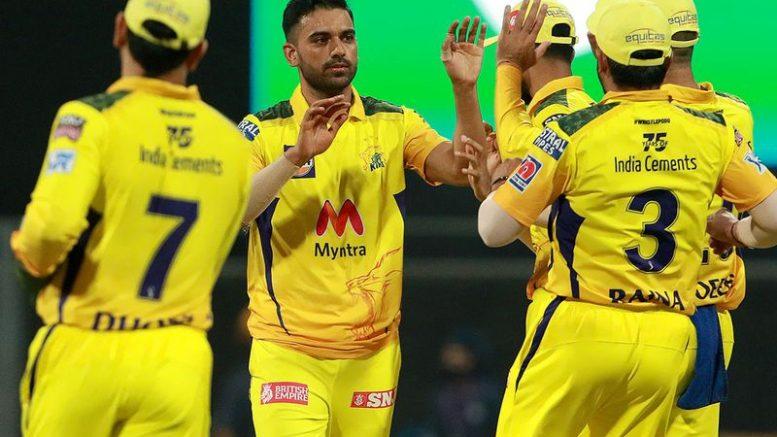 Deepak Chahar Faf du Plessis guide, Chennai Super Kings to 6-wicket win over Punjab Kings