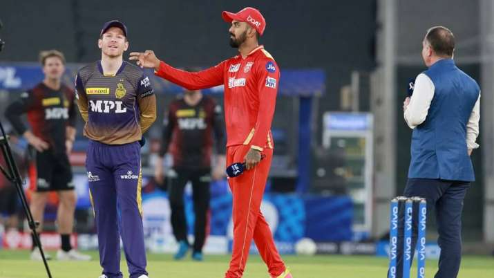 Eoin Morgan-leads KKR run chase after Tripathi, Russell fall